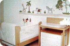 Decoração para quartos de bebês menino: Selva! -http://www.quartosdemeninos.com/decoracao-para-quartos-de-bebes-menino-selva/