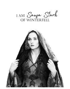 Game of thrones edit, quote. Sansa Stark, Sopie Turner