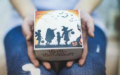 Подарочный набор. Внутри 8 макарун ассорти.  Мы с удовольствие сделаем доставку от Вашего имени. #halloween #Хэллоуин #halloweeniscoming #kza #казань #макаруныказань #macarons