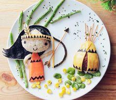 cocina niños Cocina creativa a la hora de comer