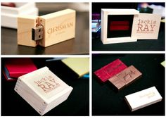Our laser engraved custom wood drives & boxes at WPPI 2012 via Chic Critique Forum