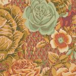 Cabbage and Rose fabric GP38 Wood by Kaffe Fassett patchwork quilt fabric