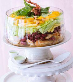 Schichtsalat - Brunch Rezepte - [LIVING AT HOME]