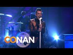 "Panic! At The Disco perform ""Miss Jackson"" live on 'CONAN' http://boystereo.com/1ddLs8J"
