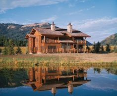 My good friend Darring works here. Maybe he'll take me there someday. South Fork Lodge, Swan Valley ID