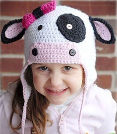 2012 hot saling Children's Handmade Wool Hat Knit Cap/newborn knit hats/ear cap/ pattern crochet baby hat free shipping