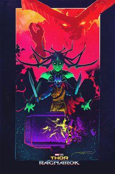Thor: Ragnarok by Juan Ramos - Home of the Alternative Movie Poster -AMP-