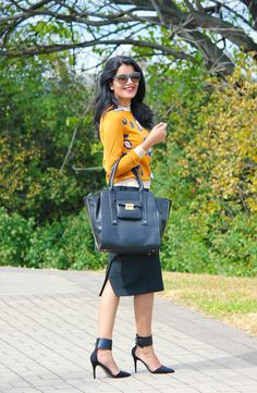 FALL! (3.1 Phillip Lim For Target,  Zara Ankle Cuff Pumps, ASOS Pencil Skirt)