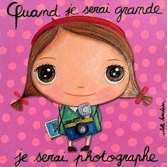 Isabelle Kessedjian : Quand je serai grand, nouvelle collection 2013. (Dessin d'artistes + Tout en rose fuschia)