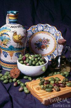 Olivas de Cieza. :: Cieza :: Murciaturistica Alicante, Tapas, Spanish, Gastronomia, Pickling, Olives, Preserve, Oil, Culinary Arts