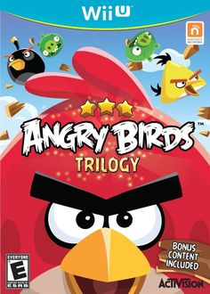 Angry Birds Trilogy Wii U Game
