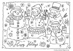 Here's a pretty Christmas colouring page with a lovely Merry Christmas word design for the kids to print and colour. Description from activityvillage.co.uk. I searched for this on bing.com/images