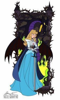 Disney Love, Disney Magic, Disney Frozen, Disney Art, Sleeping Beauty 2, Disney Villains, Disney Characters, Alternative Disney Princesses, Twisted Disney