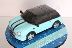 Celebrate with Cake!: Mini Cooper Car Cake