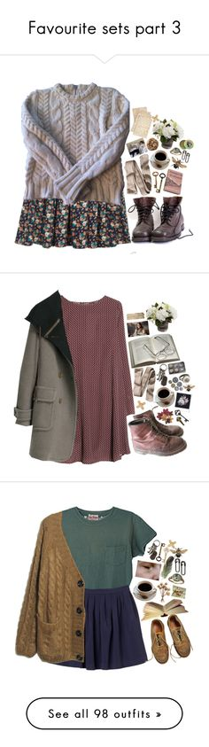 """Favourite sets part 3"" by lithe-fae ❤ liked on Polyvore featuring H&M, Claudie Pierlot, MANGO, Burt's Bees, Cultura, See by Chloé, AllSaints, Polaroid, Rock 'N Rose and Pier 1 Imports"