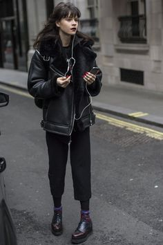 Pin for Later: Catch Up on the Best Model Street Style Moments at MFW London Fashion Week