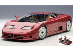 Bugatti EB110 GT 1995 Red 1:18