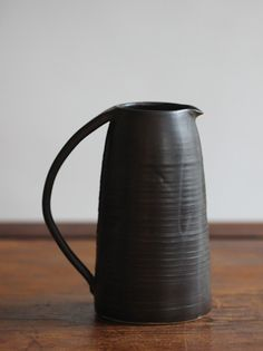 GDUKStyle.com Artisan Feature: Wheel-thrown Stoneware Water Jug 19cmH £40 from Dovestreet Pottery.