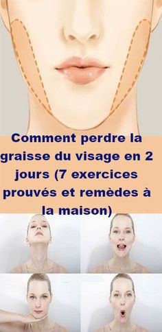How to Lose Face Fat in 2 days 7 Proven Exercises and Home remedies Onfacter Fat Face Exercises, Double Chin Exercises, Facial Exercises, Weight Loss Plans, Weight Loss Tips, Lose Weight, Reduce Face Fat, Lose Fat In Face, Cheek Fat