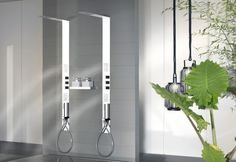 Gessi bathroom collection with a beautiful #spray shower  #BathroomCollection
