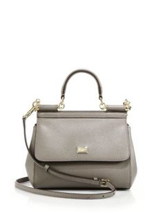 Dolce & Gabbana - Miss Sicily Large Top-Handle Satchel - Saks.com
