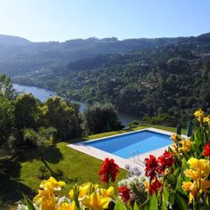 Quinta de Pias: Rio Duoro, Portugal - We've mentioned before that the city of Porto, Portugal, which is located at the mouth of the Rio Douro, is having a moment. This gorgeous home that's an hour outside Porto includes a swimming pool that overlooks the river, picturesque gardens and lots of communal areas for drinking wine with friends until sunrise. The price per night is $283 and the property sleeps 10, so you could visit this dream destination for as little as $28 per person per night.