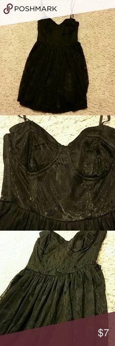Black lace petite small dress Black lace petite small dress Dresses