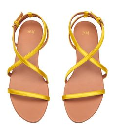 01e3be4f3b0 Sandals with adjustable straps with metal buckle. Faux leather lining and