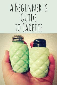 Great information about Jadeite! http://estatesales.org/thegoods/jadeite-jadite-jade-ite-guide