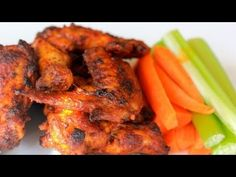 Baked Buffalo Wings - Clean Eating