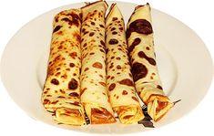 Clatite pufoase cu smantana   Retete culinare gustoase Gem, Ethnic Recipes, Food, Banana, Essen, Jewels, Meals, Gemstone, Gemstones