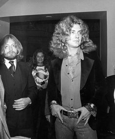 Plant and Jonesy.... Tommy Bolin in back