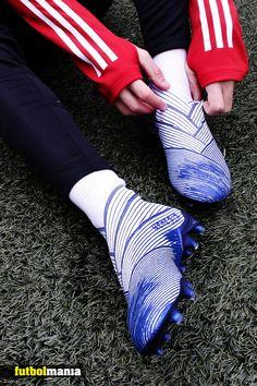 Cool Football Boots, Soccer Boots, Football Shoes, Soccer Cleats, Adidas Football, Football Soccer, Soccer Ball, Adidas Nemeziz, Soccer Accessories