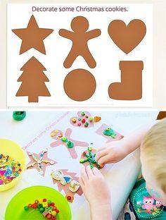 Шаблоны для пластилина «Новый год» | Дети Дома