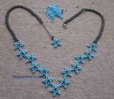Turquoise Necklace, Beaded Necklace, Jewelry Patterns, Artisanal, Bead Weaving, Seed Beads, Tatting, Chevron, Diy And Crafts