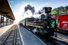 Georgen am Kreischberg Heart Of Europe, Steam Locomotive, British, Trains, Golf, Club, Train, Birds Eye View, Ski