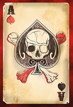 Aces all around! Getting great ideas for tattoos. :)