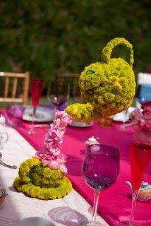 Mad Hatter bday party idea