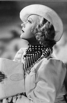 Cinema Connection--1930s Marion Davies in Polkadots   GlamAmor