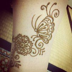#henna #tattoo #mehndi #butterfly #art #foot #Padgram