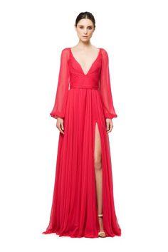 purple maxi dress women's/evening long dress /prom dress/long