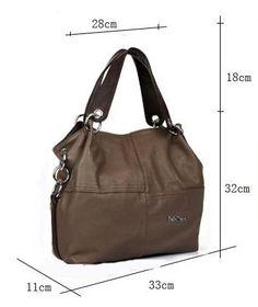 Dark Khaki Composite Leather Bag.$60 Wide Hand and Shoulder Straps. Beautiful Bag!! Dark Khaki, Beautiful Bags, Rebecca Minkoff, Leather Bag, Handbags, Shoulder Straps, Totes, Suspenders, Leather Satchel