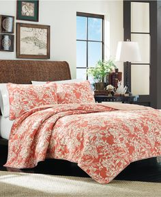 $150 Tommy Bahama Home Orchid Retreat King Quilt   Quilts U0026 Bedspreads   Bed  U0026 Bath