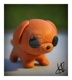 Polymer Clay Puppy by MehHappy on deviantART