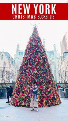 New York Christmas, Christmas Travel, Holiday Travel, Christmas Markets, Xmas, Usa Travel Guide, Travel Usa, Travel Tips, Travel Destinations
