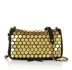 Bobi embellished suede shoulder bag by Jerome Dreyfuss.