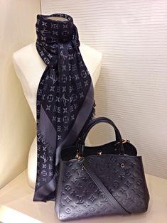 Louis Vuitton - Black Empreinte Montaigne (Feb.2014)