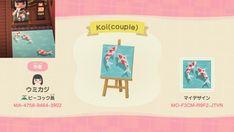Animal Crossing 3ds, Animal Crossing Qr Codes Clothes, Koi Pond Design, Deck Design, Sign Design, Landscape Design, Satire, Film Manga, Ac New Leaf