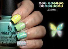 GOT Polish Challenge: Skittle || Pastel polka dots.  by I'm A Nail Art Addict!