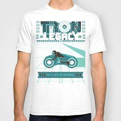Tron Legacy T-shirt by V.Kharuzhy